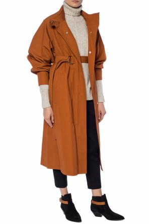 Coat with a stand up collar od Isabel Marant